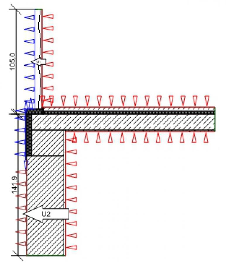 din 4108 beiblatt 2 066 terrassent r monolithisches mauerwerk. Black Bedroom Furniture Sets. Home Design Ideas