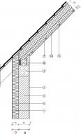 4 3 2 1 traufe pfettendach mit drempel mauerwerk au enged mmt. Black Bedroom Furniture Sets. Home Design Ideas