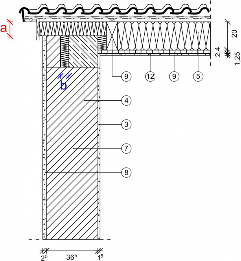 4 5 1 1 ortgang mauerwerk monolithisch. Black Bedroom Furniture Sets. Home Design Ideas