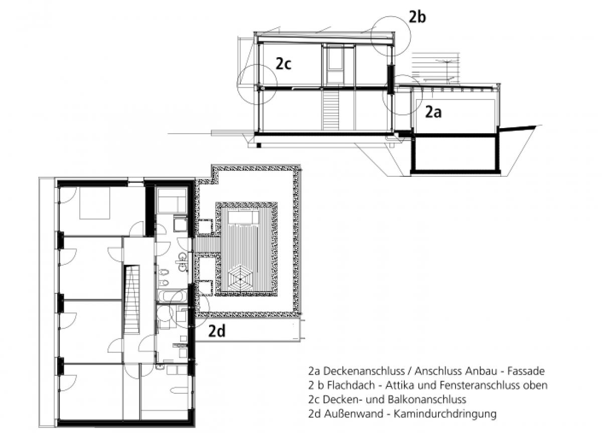 bki k3 d02 typische detaill sungen f r passivh user in holzbauweise. Black Bedroom Furniture Sets. Home Design Ideas