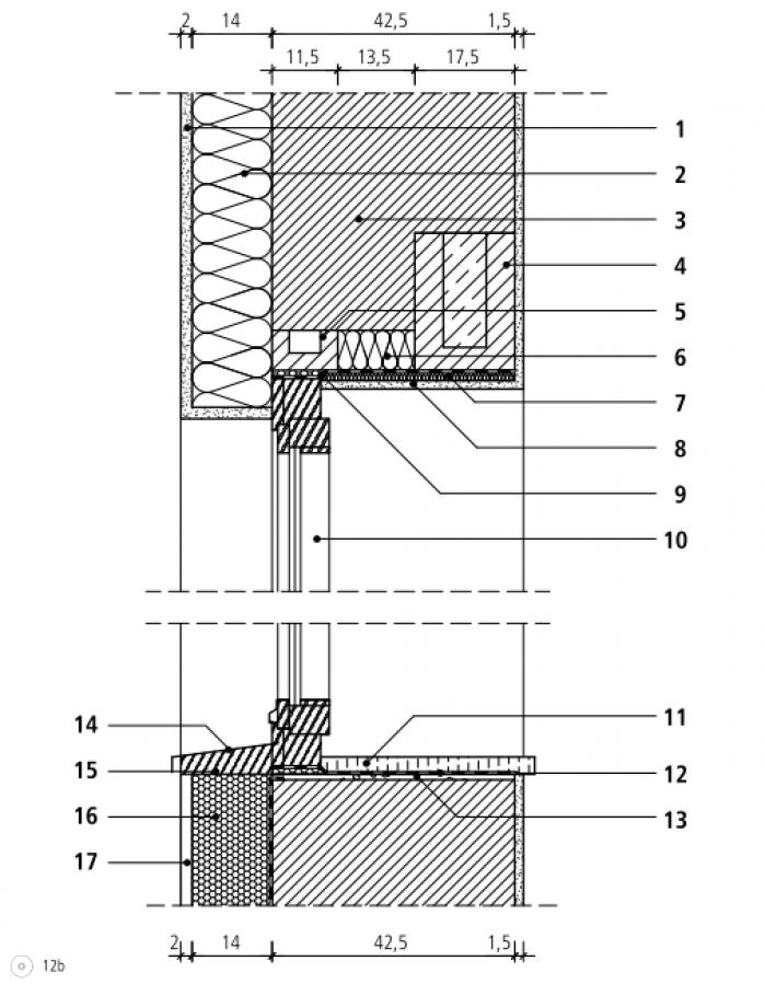 bki k3 d12 typische detaill sungen f r w rmeged mmtes mauerwerk mit zus tzlicher w rmed mmung. Black Bedroom Furniture Sets. Home Design Ideas