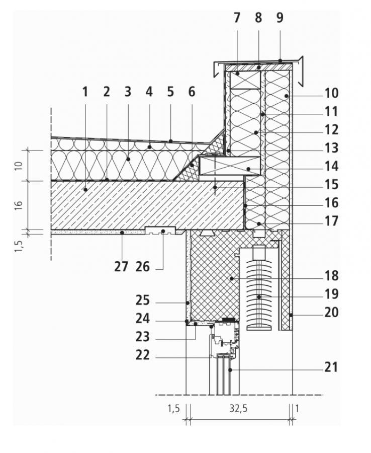 bki k4 d21 einfamilienhaus massivbau flachdach. Black Bedroom Furniture Sets. Home Design Ideas