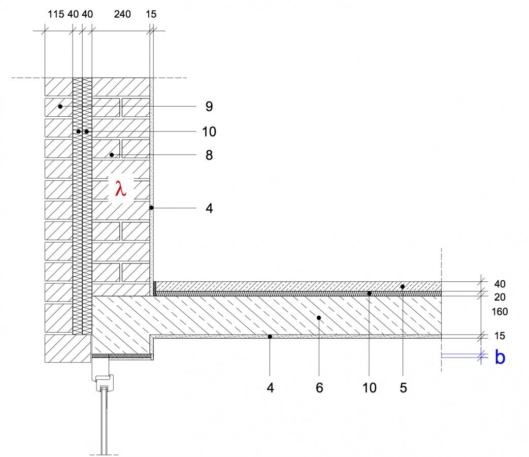 Sehr 8.24 Fenstersturz, zweischaliges Mauerwerk, nachträglich EX35