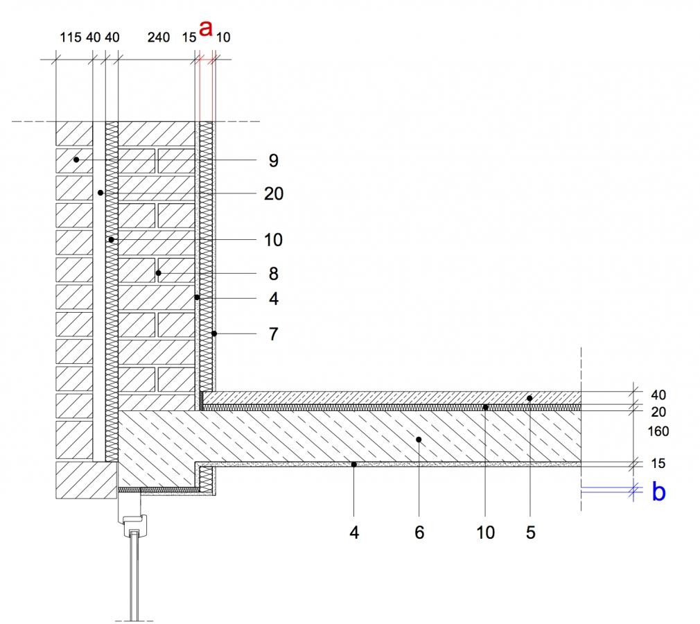 Gut gemocht 8.25 Fenstersturz, zweischaliges Mauerwerk, innengedämmt mit OT73